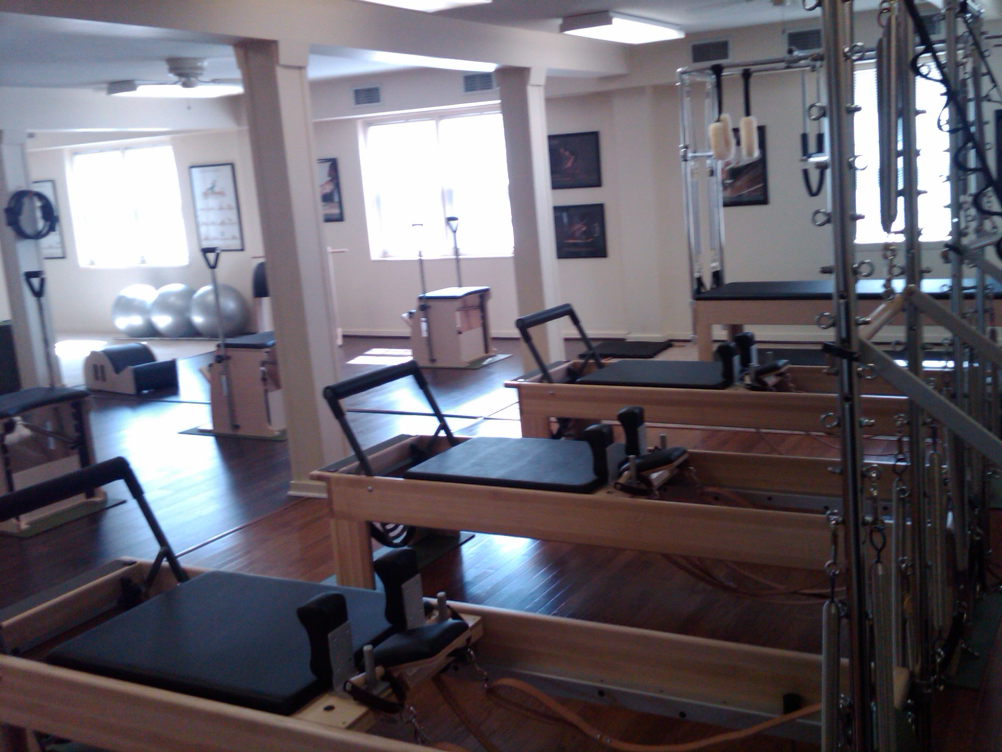 Greensboro Pilates Studio Equipment